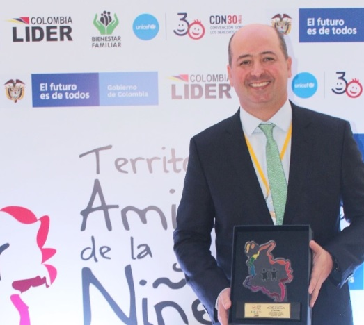 Marcos Daniel Pineda, alcalde de Montería.
