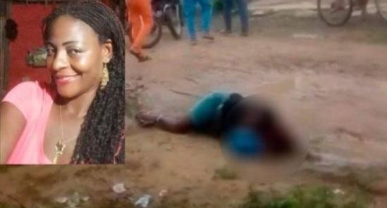 María del Pilar Hurtado, muerta en Tierralta.