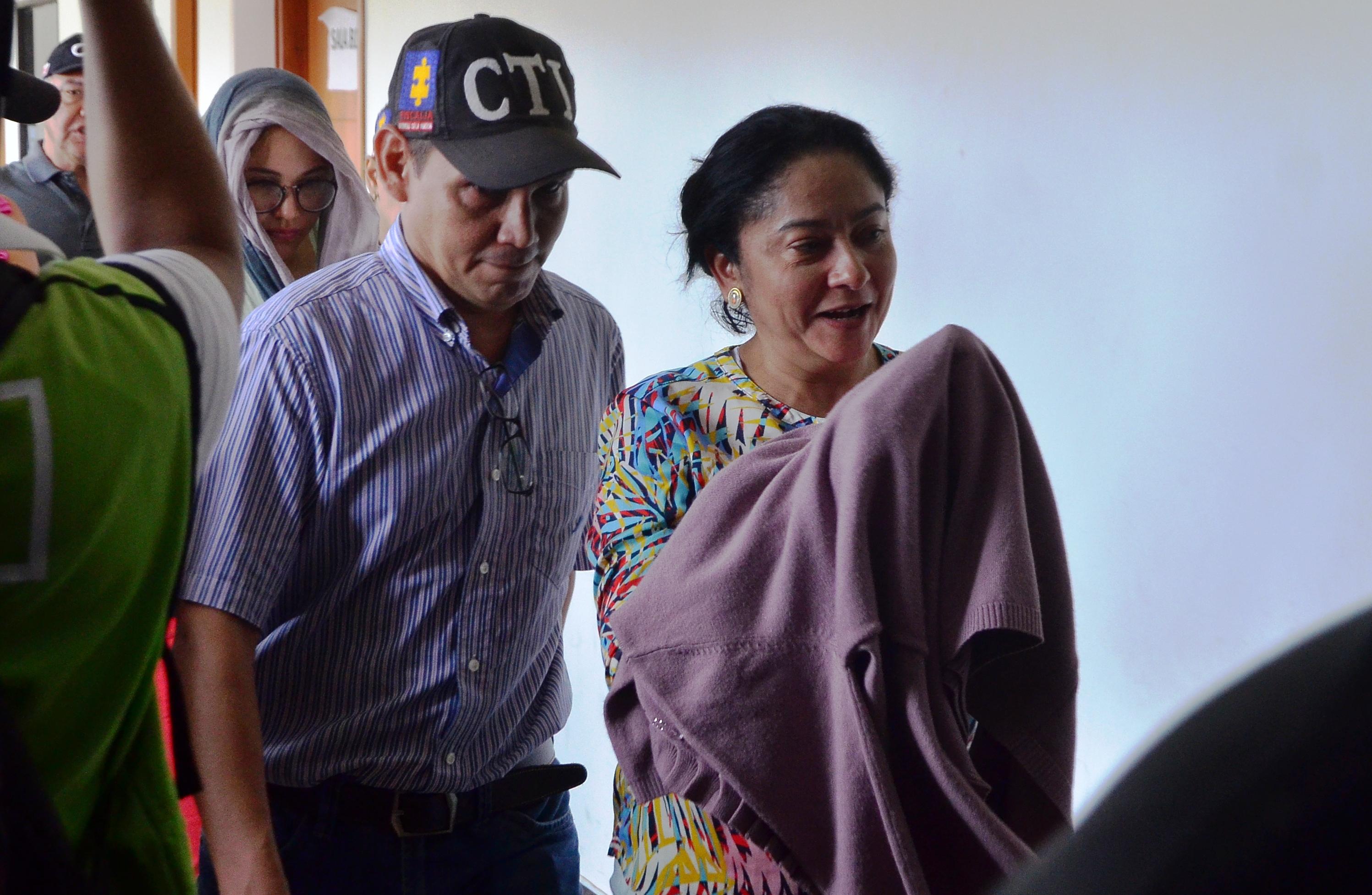 María Inmaculada Pinto Cerchar fue enviada a la cárcel el pasado viernes.