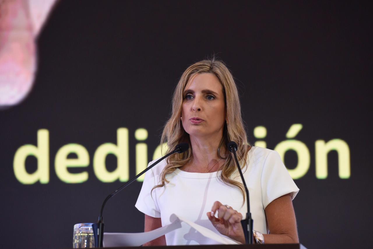 La presidente de la Cámara de Comercio de Barranquilla, María José Vengoechea.