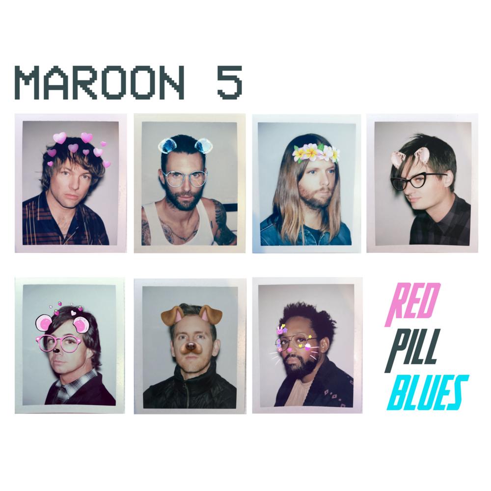 Portada de 'Red Pill Blues', el sexto álbum de estudio de Maroon 5