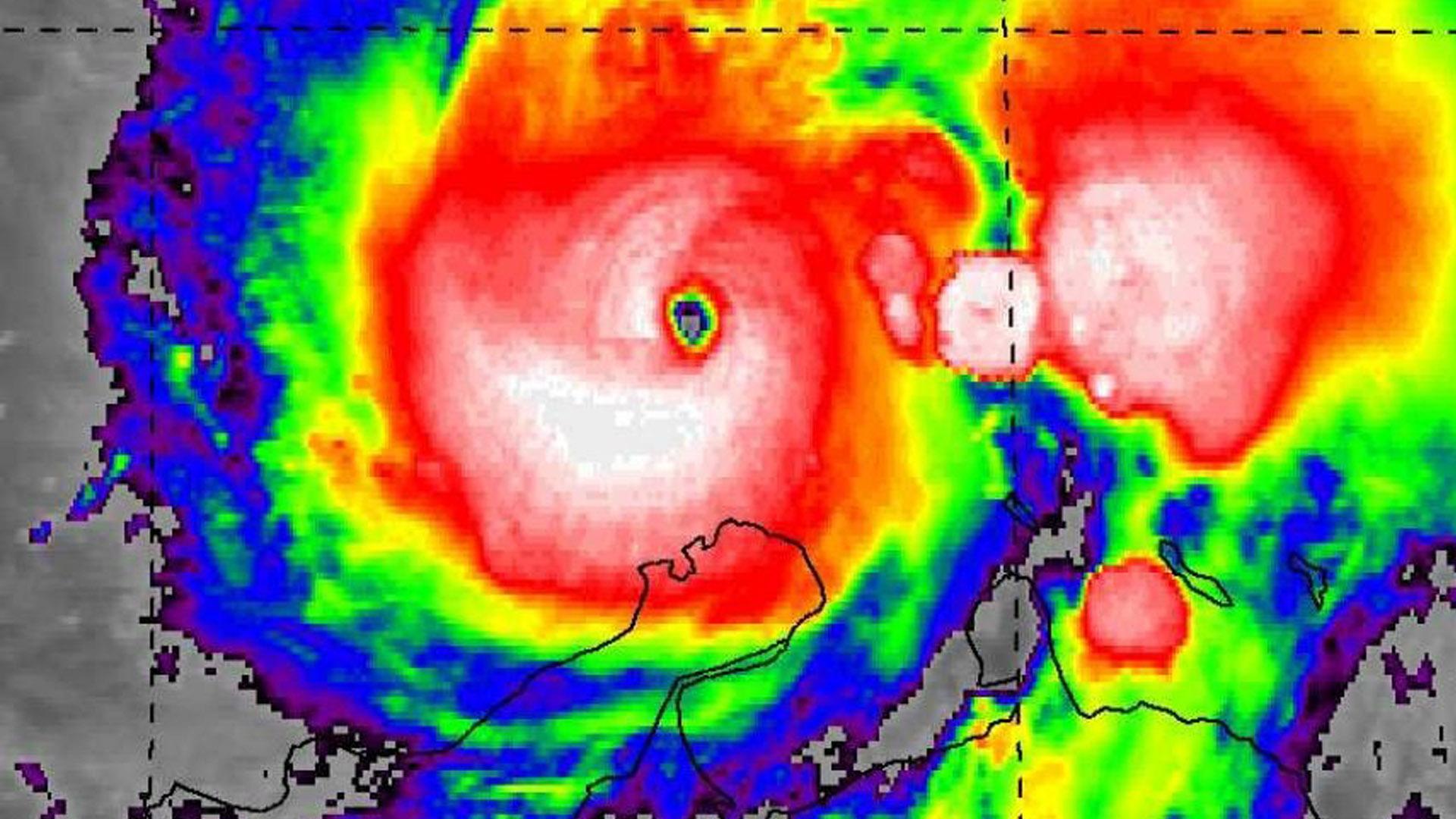 El huracán 'Mattew' que pasó en 2016 por La Guajira.