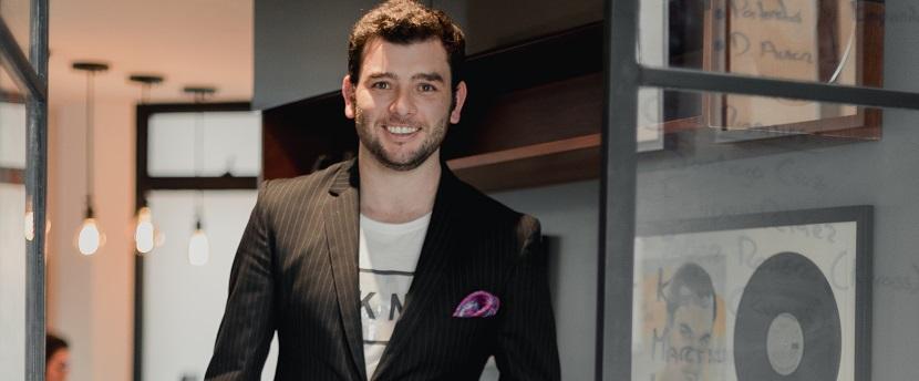 Mauricio Maestre, abogado especialista en la industria del entretenimiento.