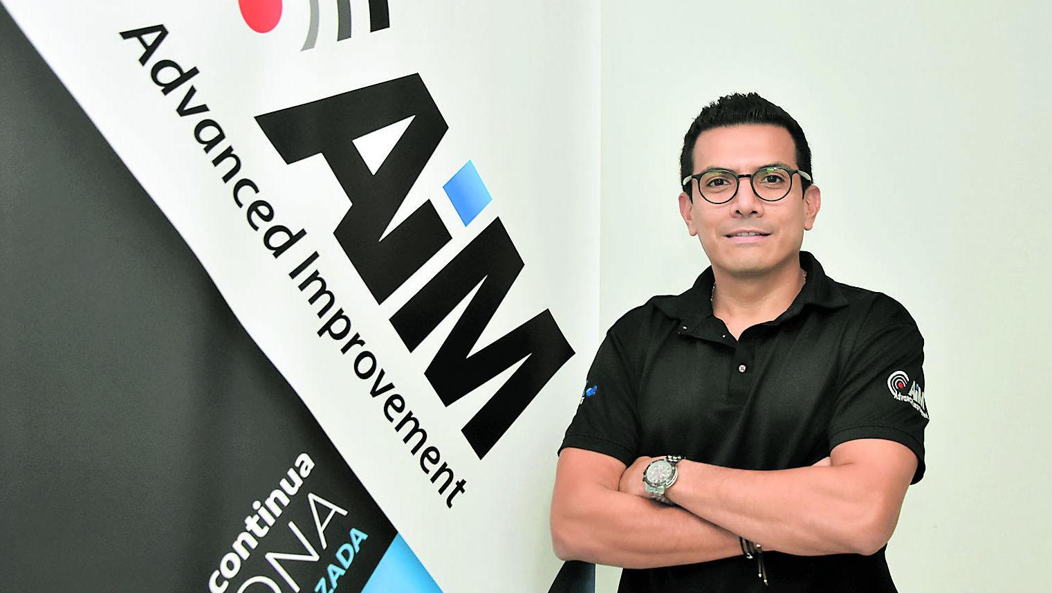 Maurico Moreno, gerente y fundador de AGTI destaca a AIM como desarrollo colombiano.