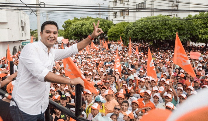 Mello Castro, nieto de Pepe Castro, fue elegido alcalde de Valledupar.