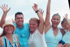 Los Martínez-Montes en una foto del álbum familiar.