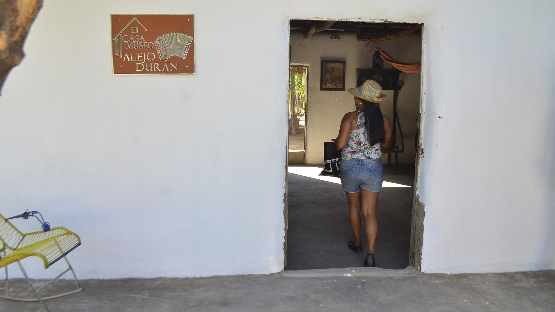Fachada de la Casa Museo Alejandro Durán.