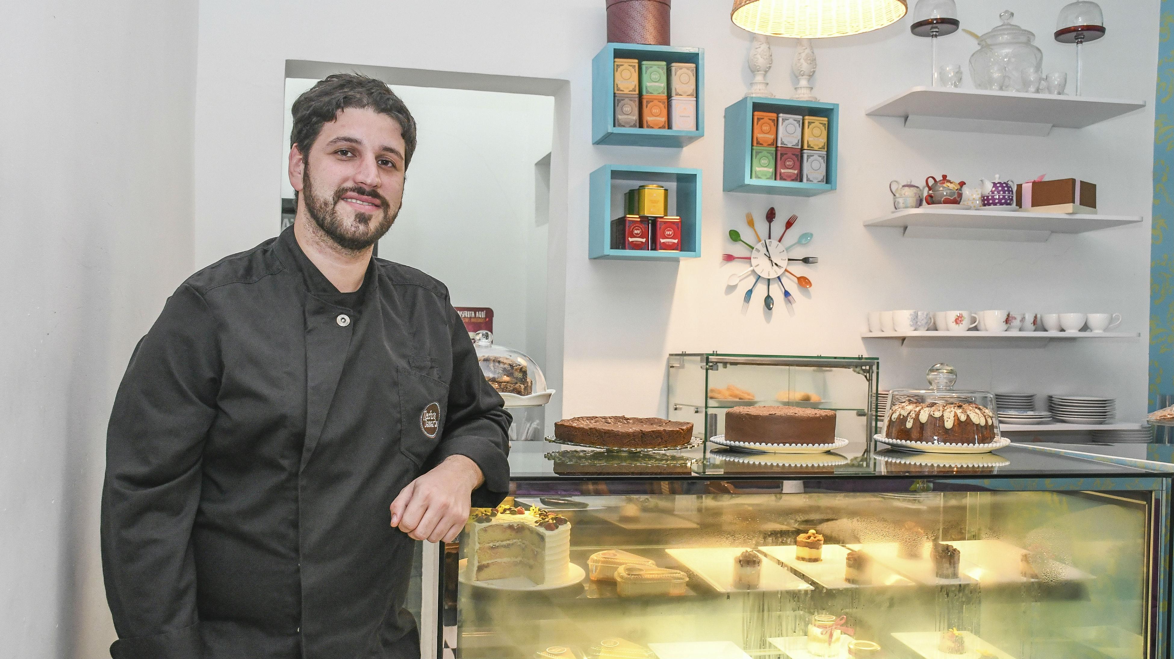 Nacho Fadul, hijo de María Emilia Fadul, y creador de Nacho's Dessert´s.