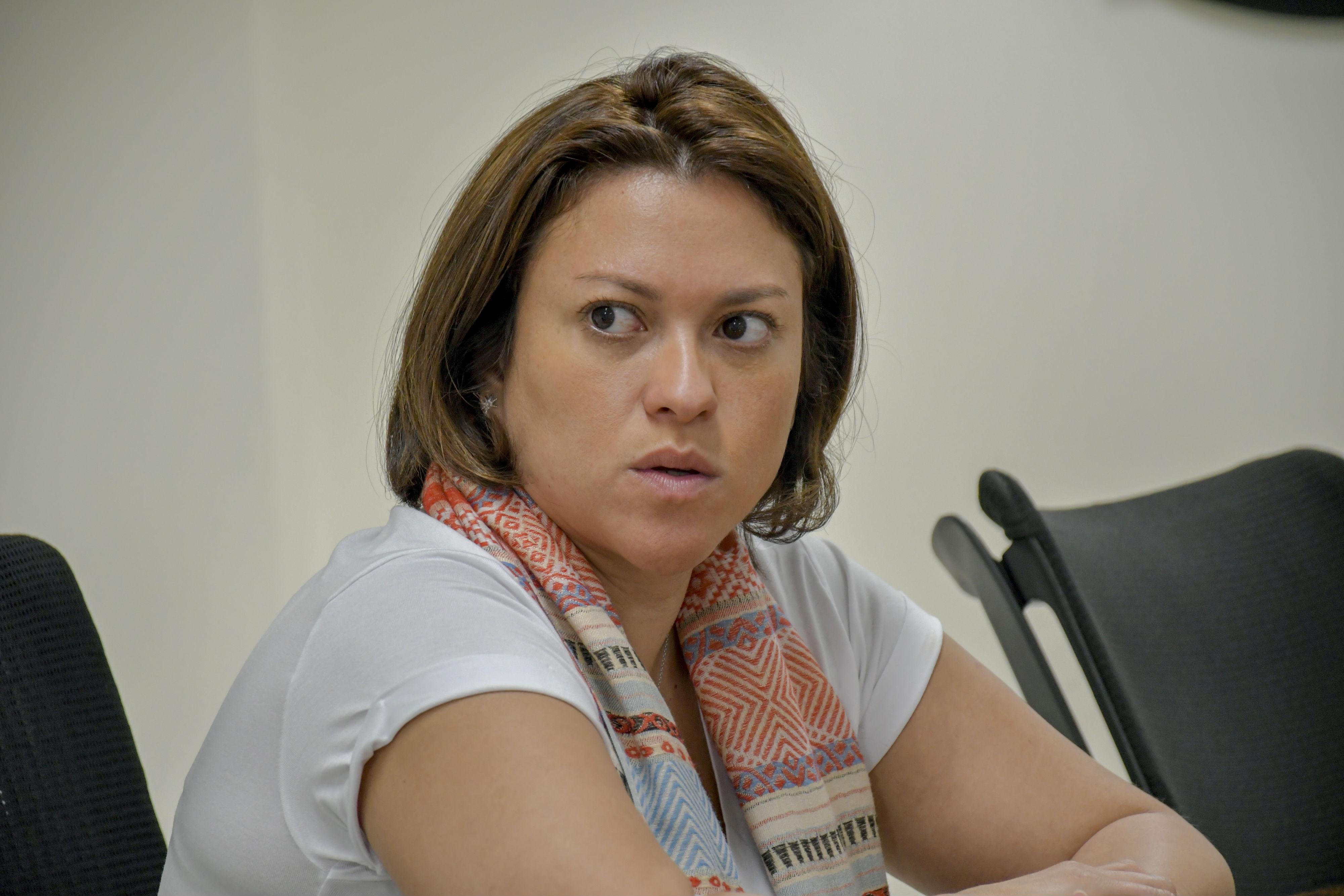 Natasha Avendaño García, Superintendente de Servicios Públicos.