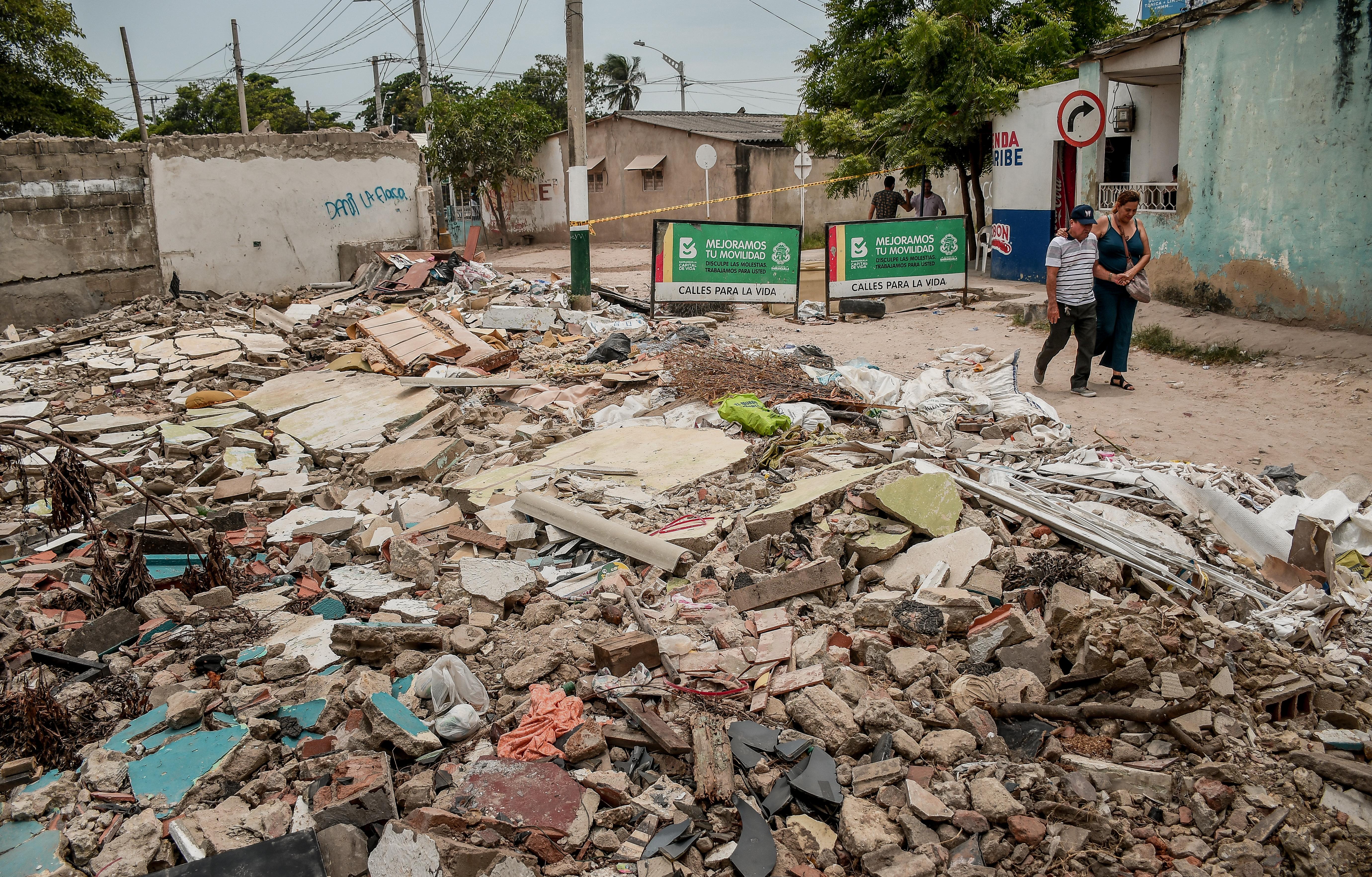 Algunas viviendas del sector ya fueron demolidas.