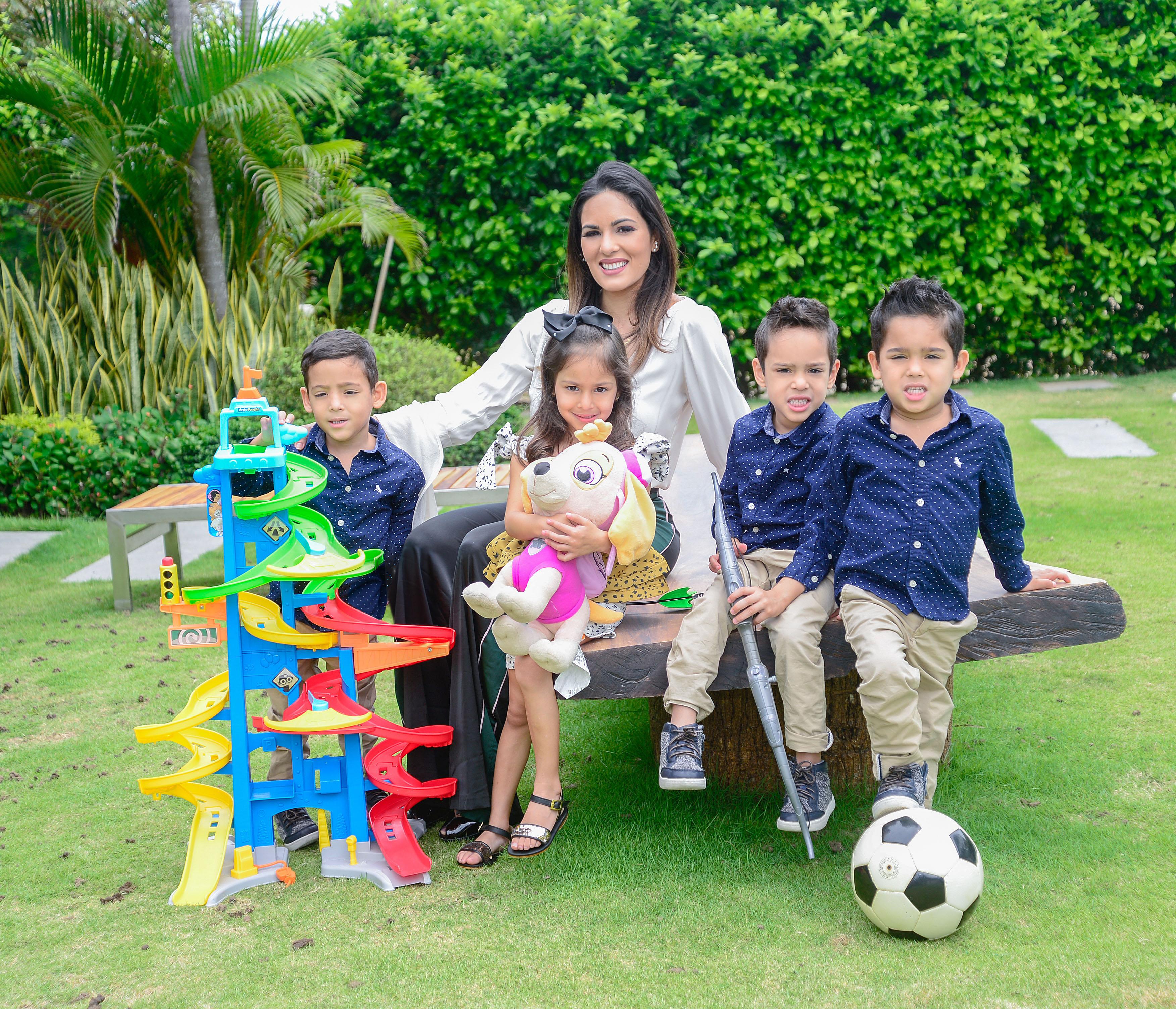 Para ella cada uno de sus hijos es un regalo de Dios.