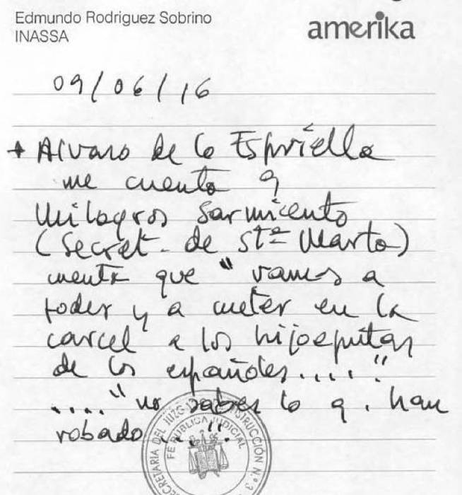 Otra de las anotaciones de Edmundo Rodríguez.