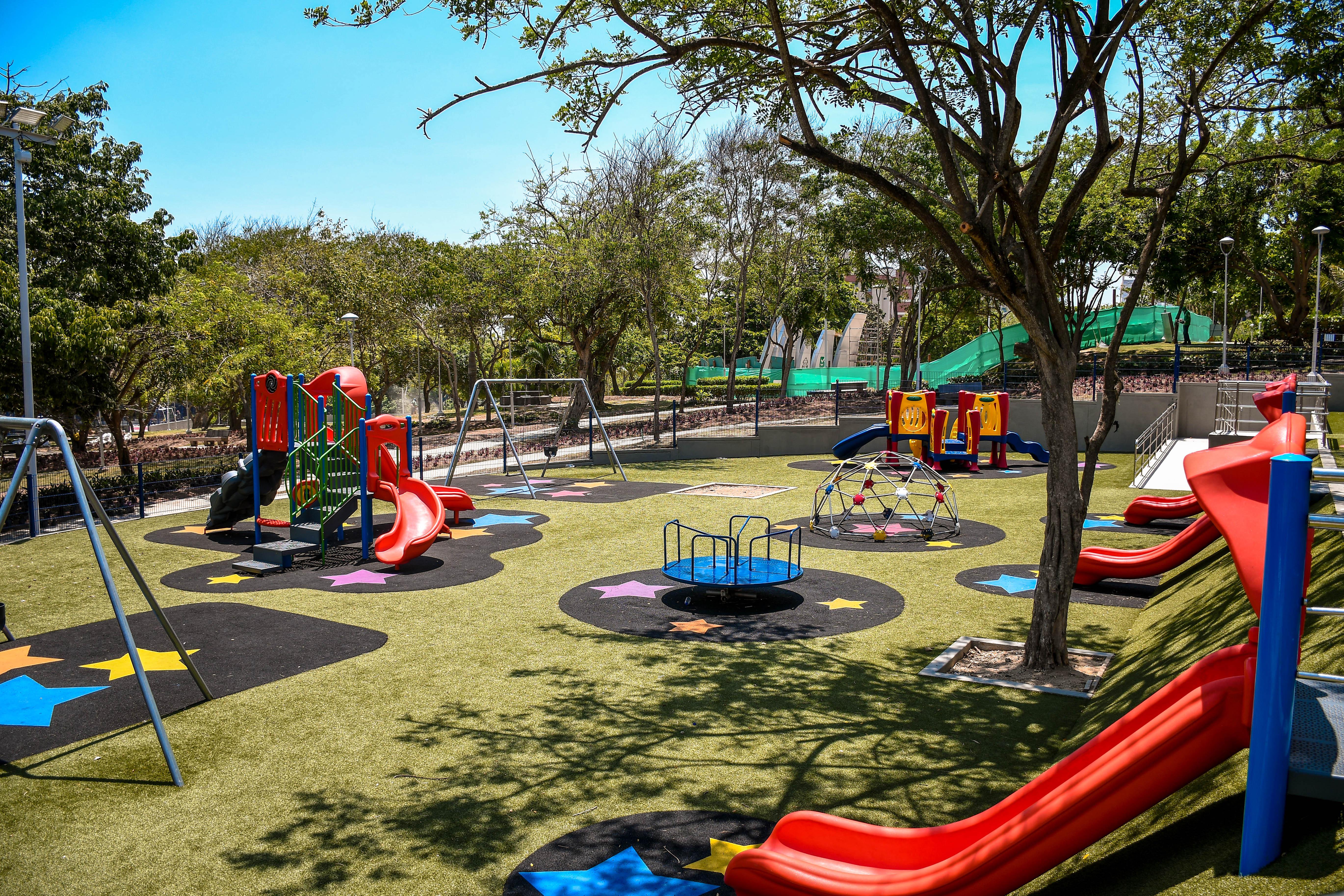 La nueva área infantil tendrá juegos y espacio verde.