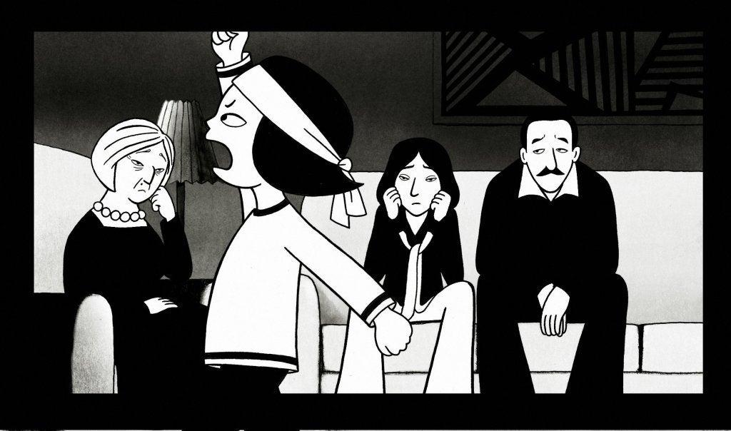 Persépolis (2007)  Marjane Satrapi creó una novela gráfica representativa para el feminismo en la última década. Retrata la historia de Irán a través de la revolución islámica y cómo influyó en la adaptación de la mujer en cada nuevo contexto social.