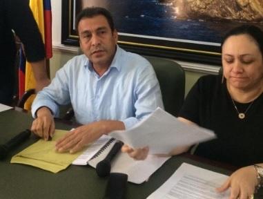 Julio David Alzamora, presidente de la Asamblea del Magdalena.