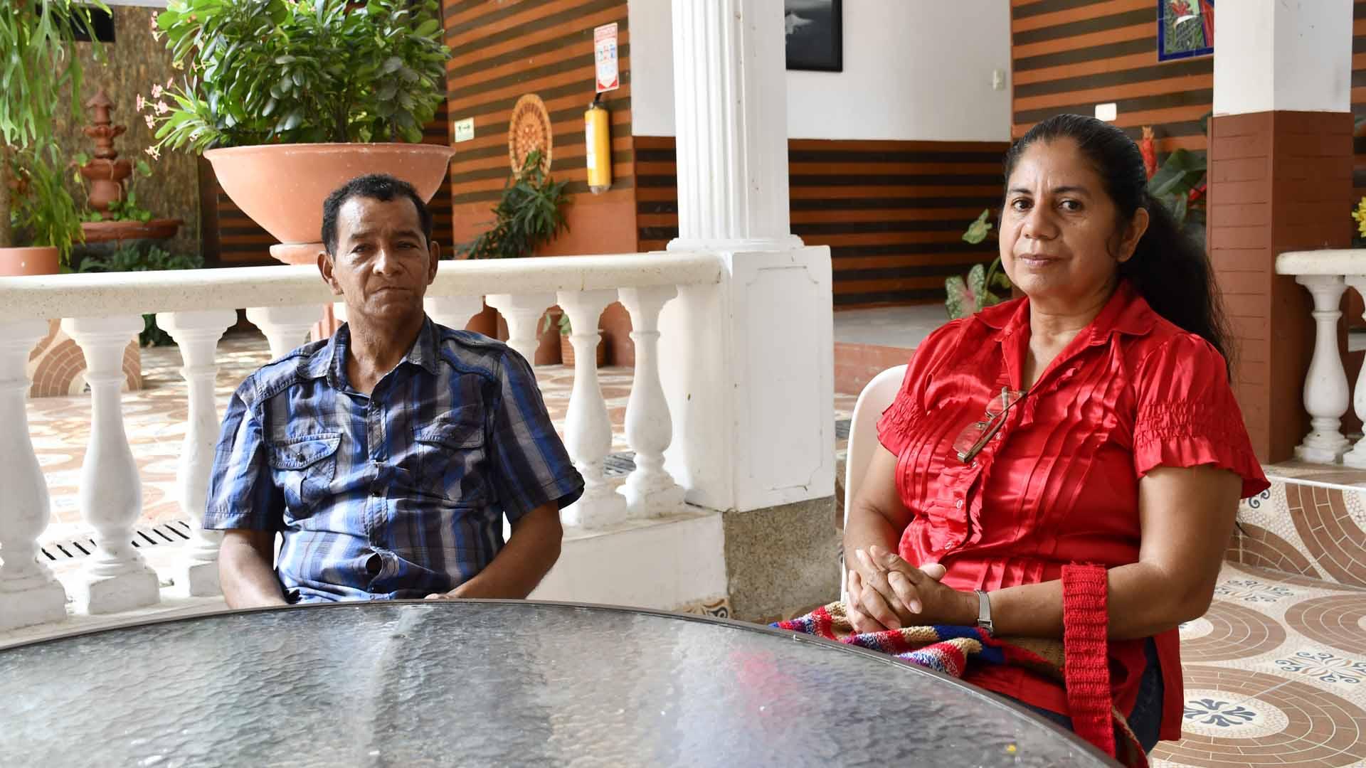 Rodrigo Benavidez desde su convalecencia en un hotel de Barranquilla.