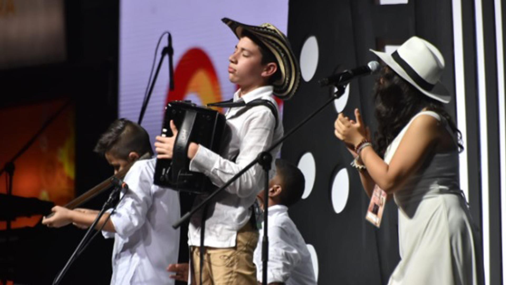 José Liberato Villazón, ganador en la categoría Infantil.