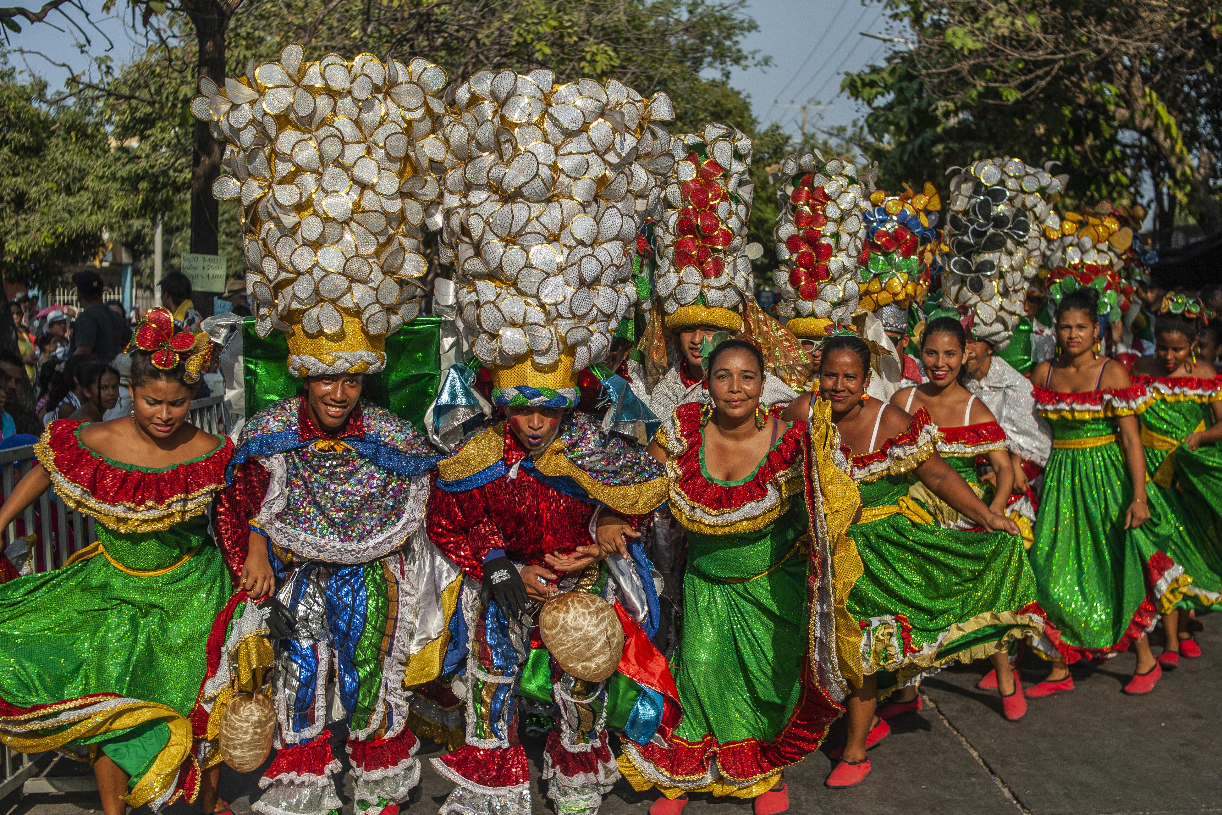 La tradición dijo presente en la Conquista con la Danza del Congo.