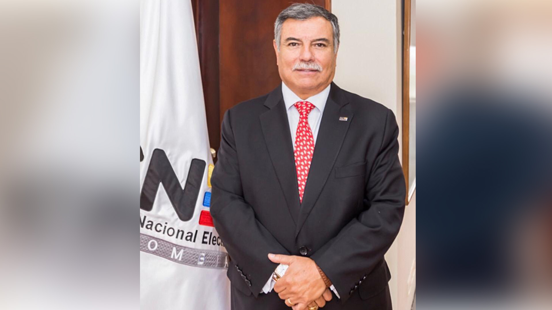 Jorge Enrique Rizo, vicepresidente CNE.
