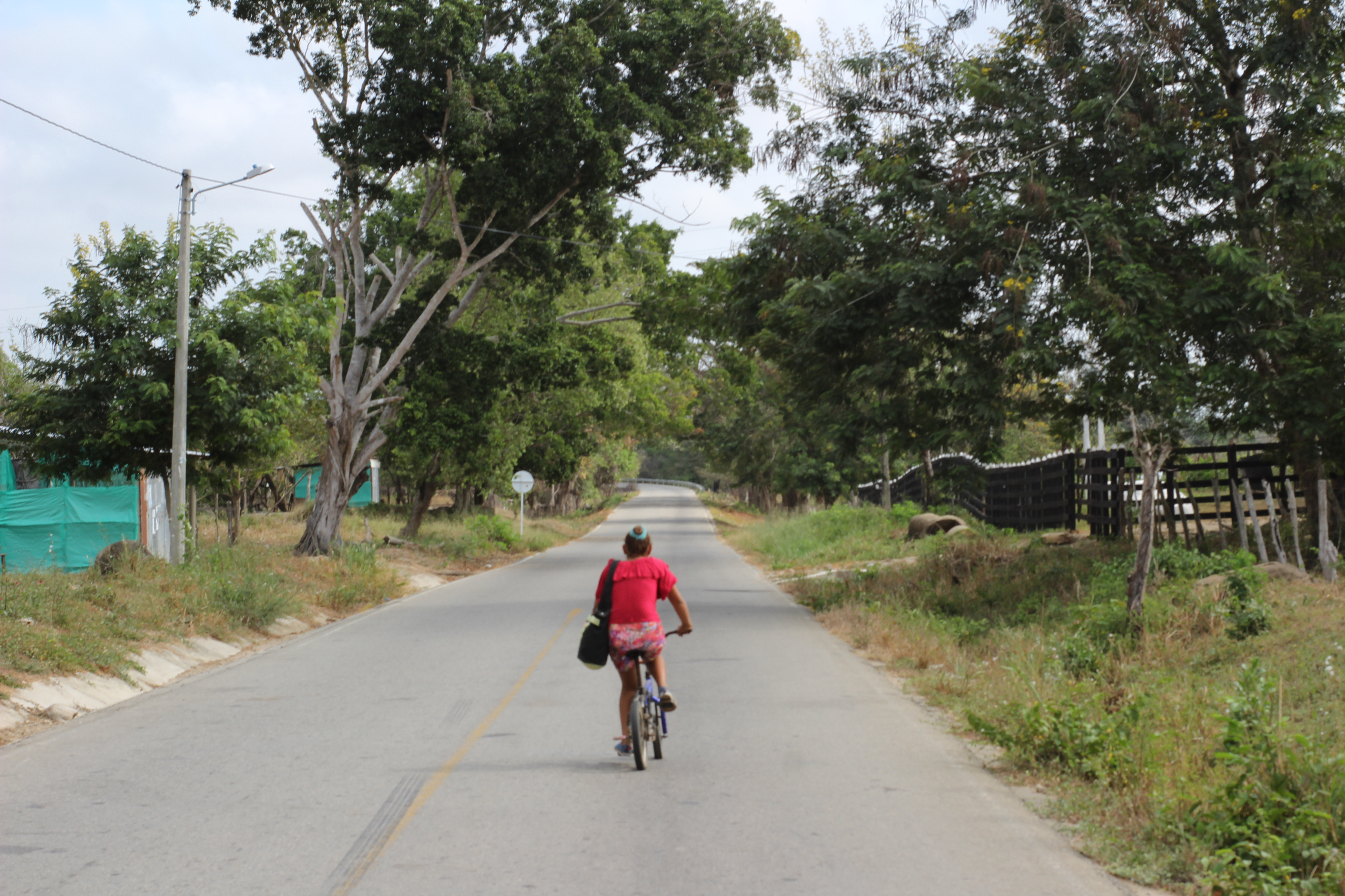 Salaminita está ubicado en el kilómetro 17 de la vía entre Fundación y Pivijay.