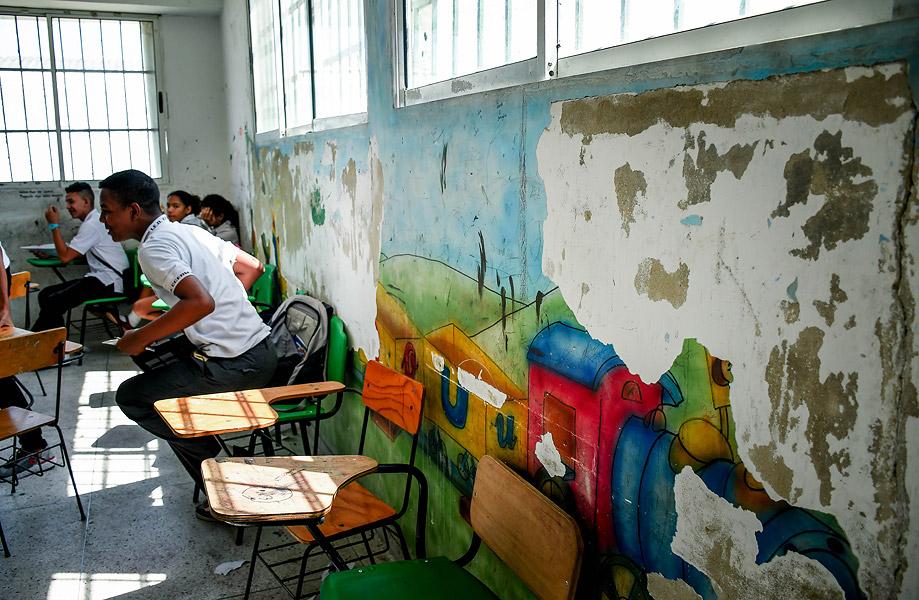 Las paredes con fisuras y cambio en el mobiliario es lo que piden en la institución ubicada en La Ciudadela.
