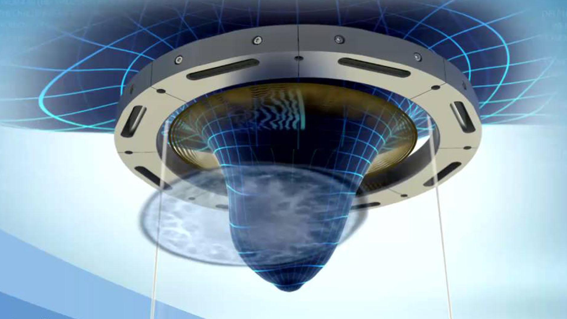 La máquina da una vuelta de 360 grados alrededor del seno sin comprimirlo.