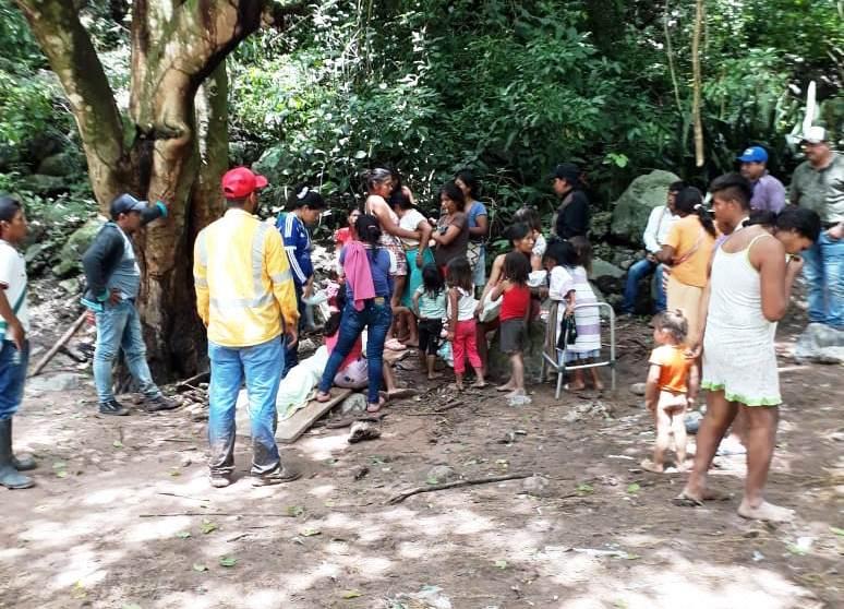 Setenta familias yukpas fueron reubicadas.