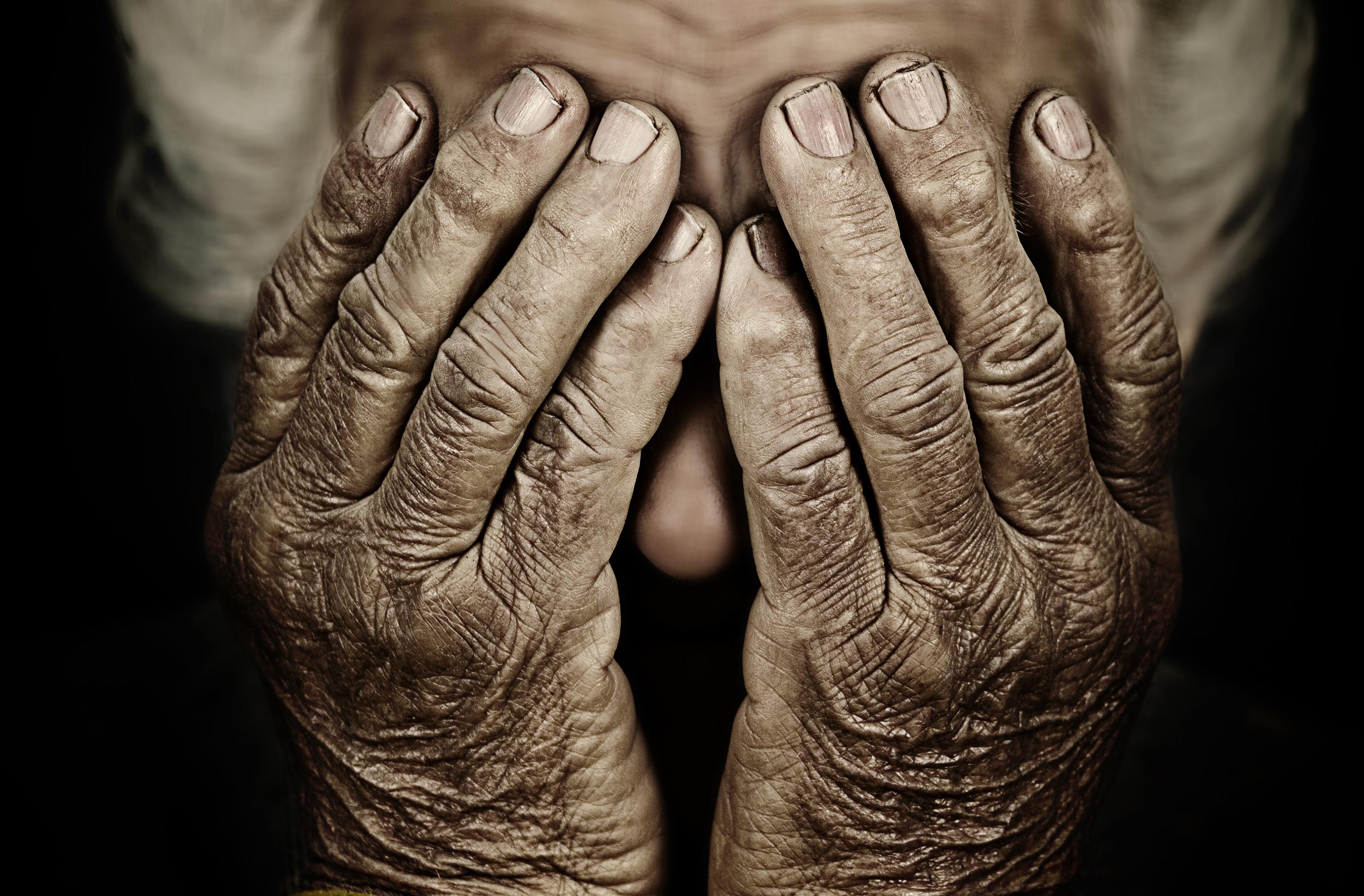 La anciana contó tener una profunda tristeza.