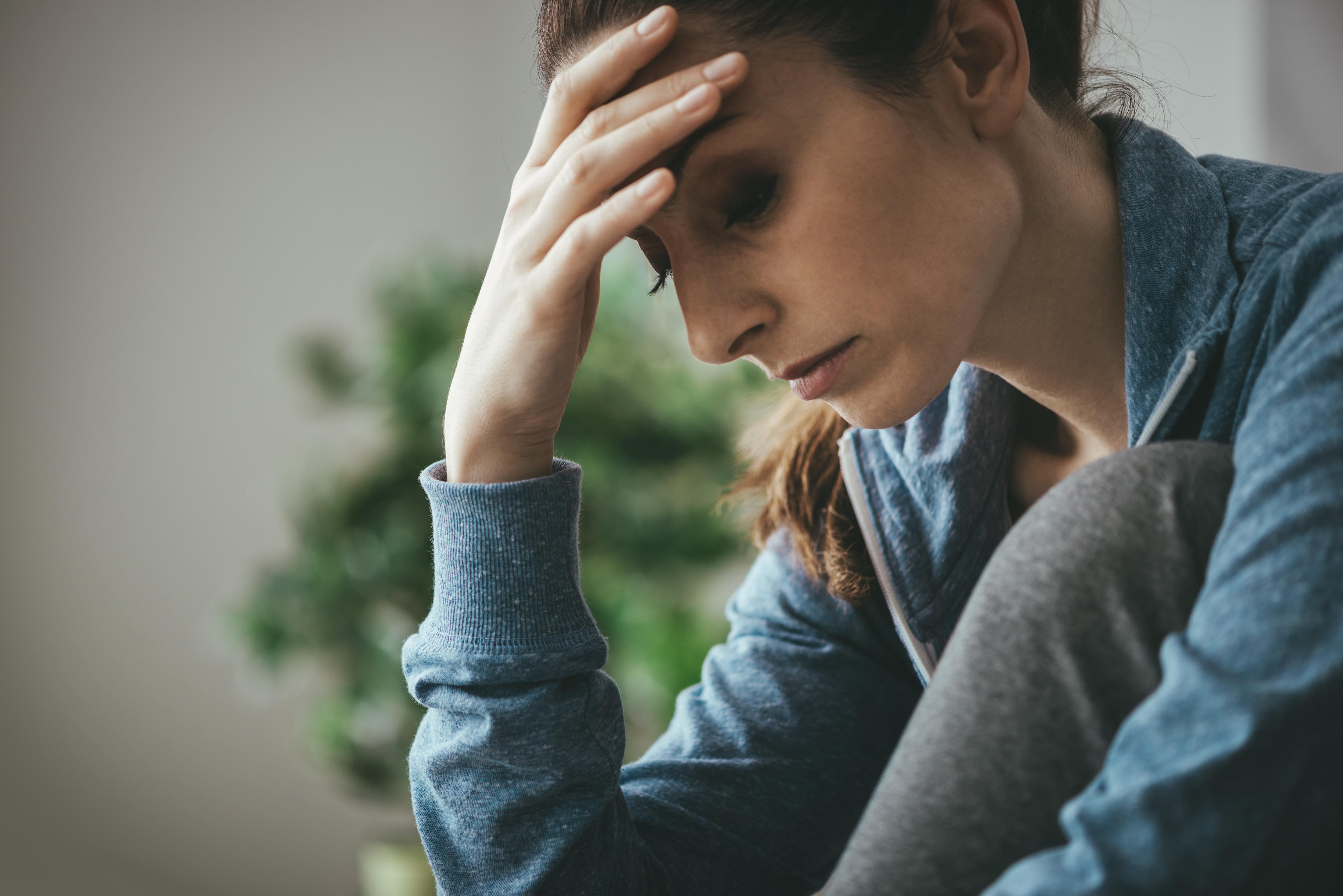 Las mujeres son quienes más sufren de depresión.