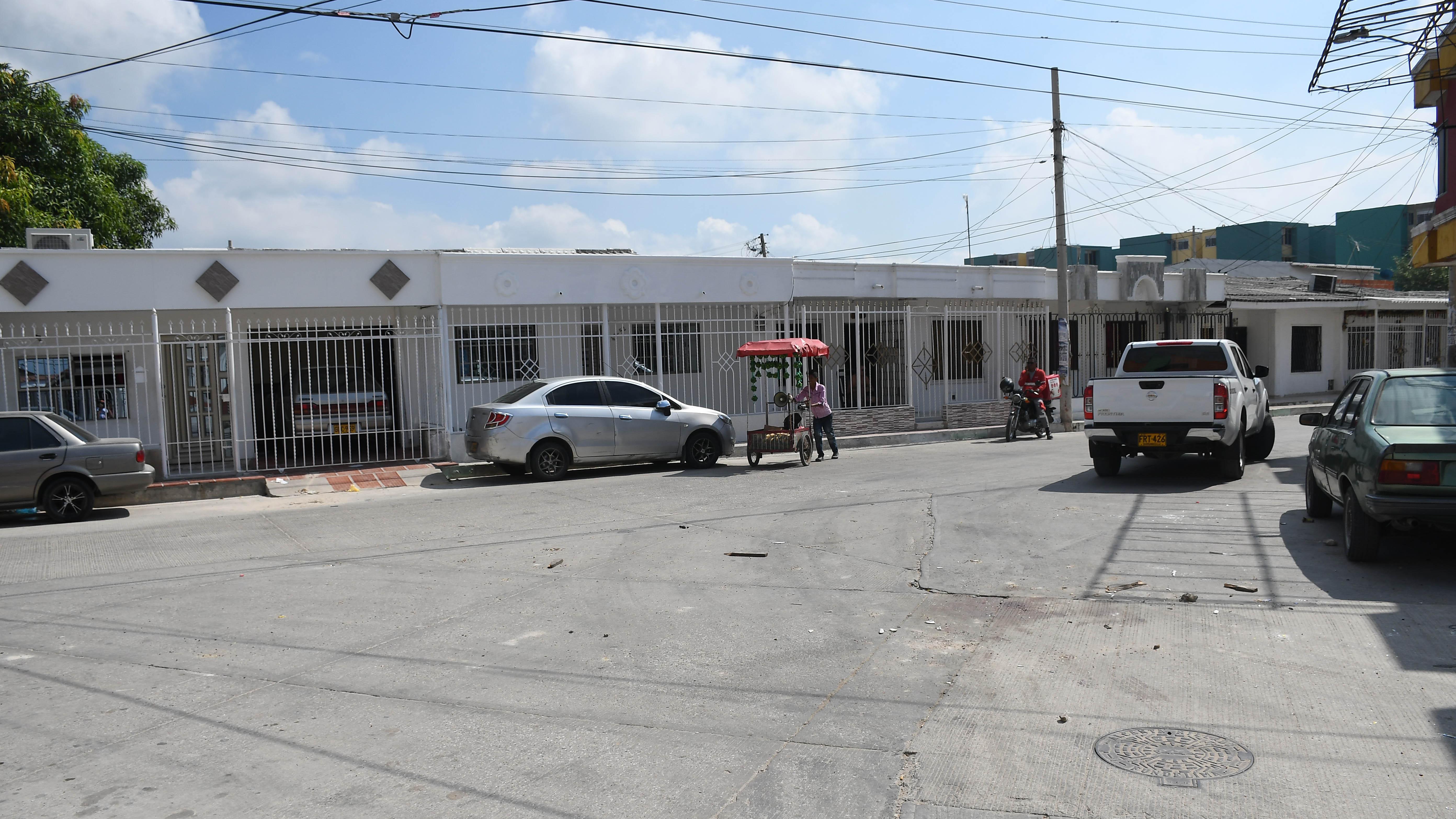 Carrera 47 con calle 27, en Costa Hermosa, Soledad, donde fueron los hechos.