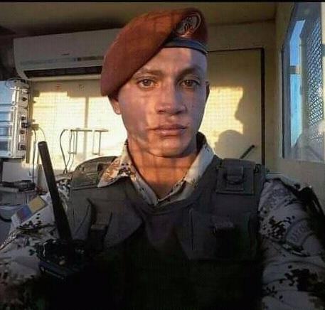 Samir Castillo en el año en el que estuvo en el Sinaí.