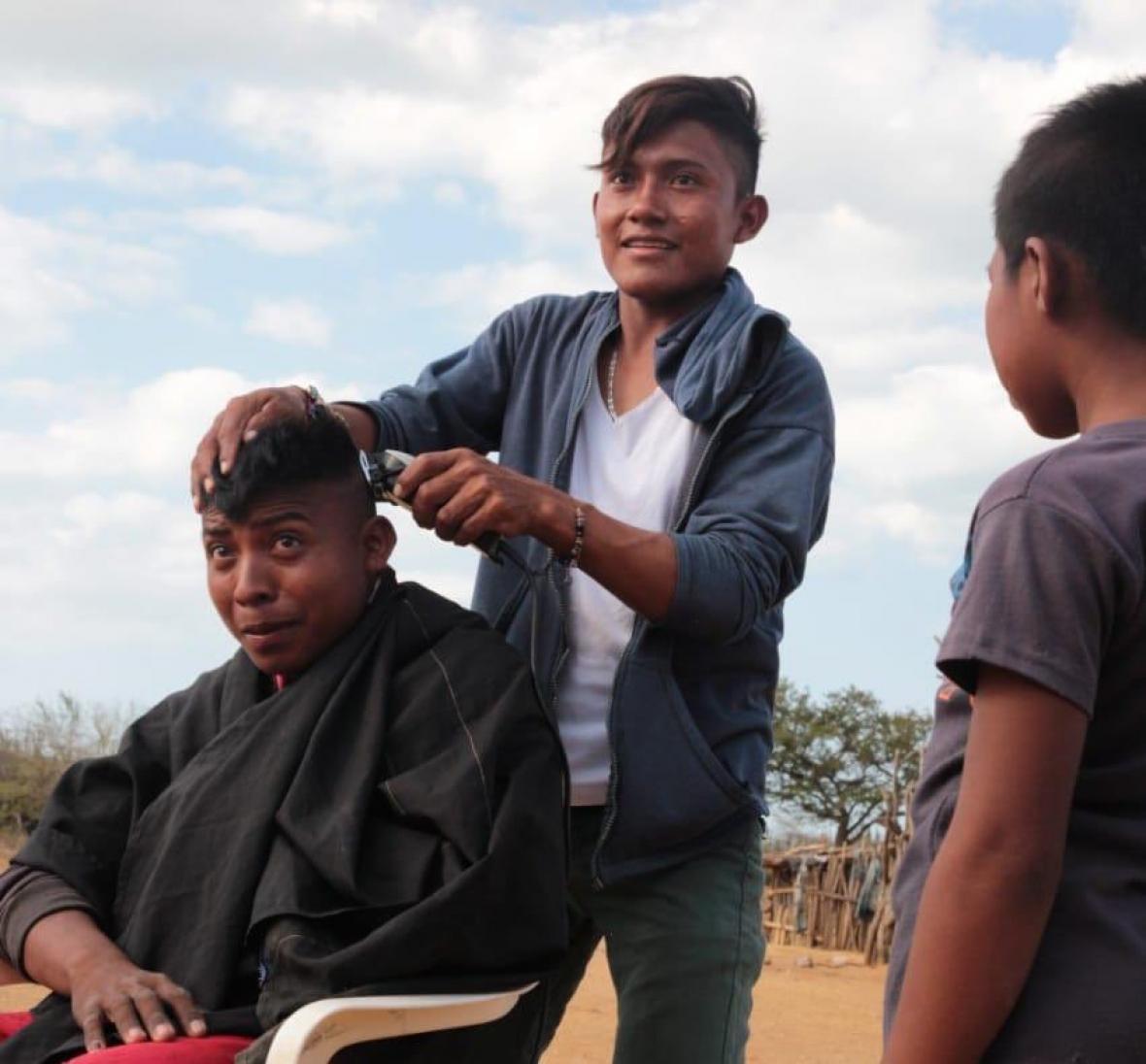 La peluquería ambulante se ha incrementado.