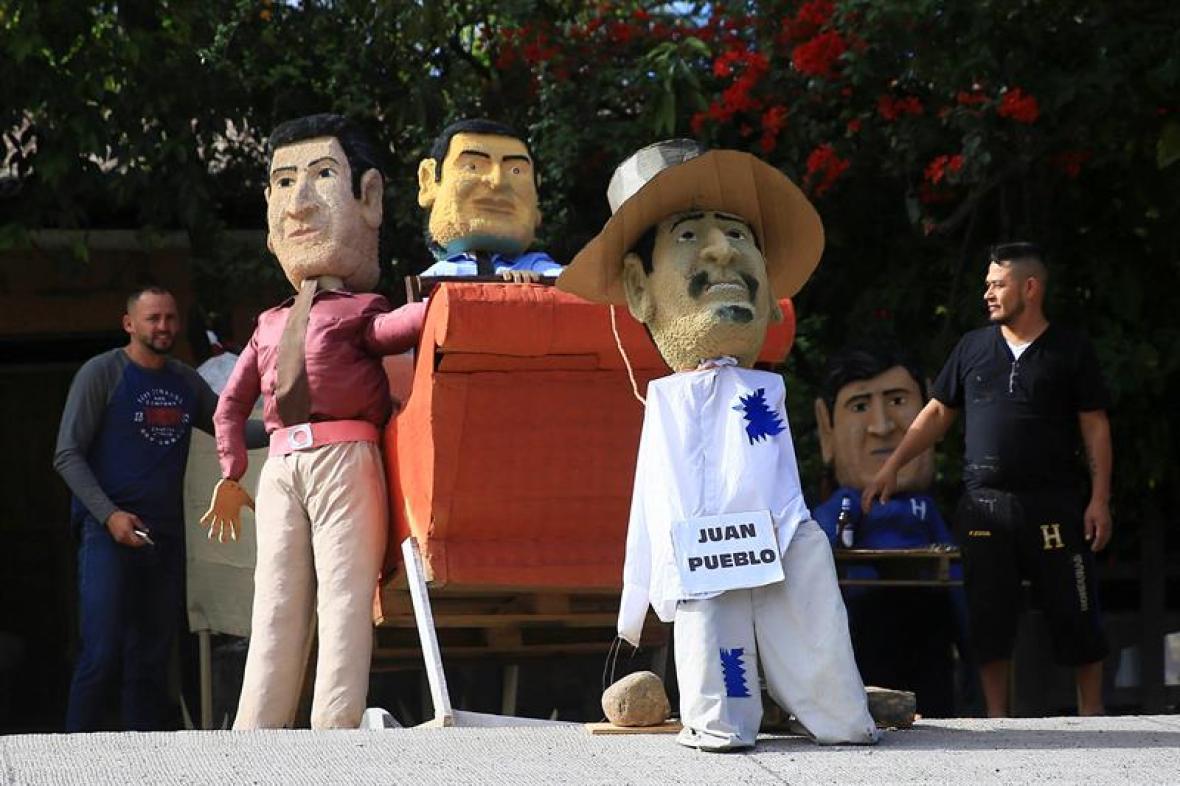 Oposición hondureña anuncia un mes de protestas contra posesión de Hernández