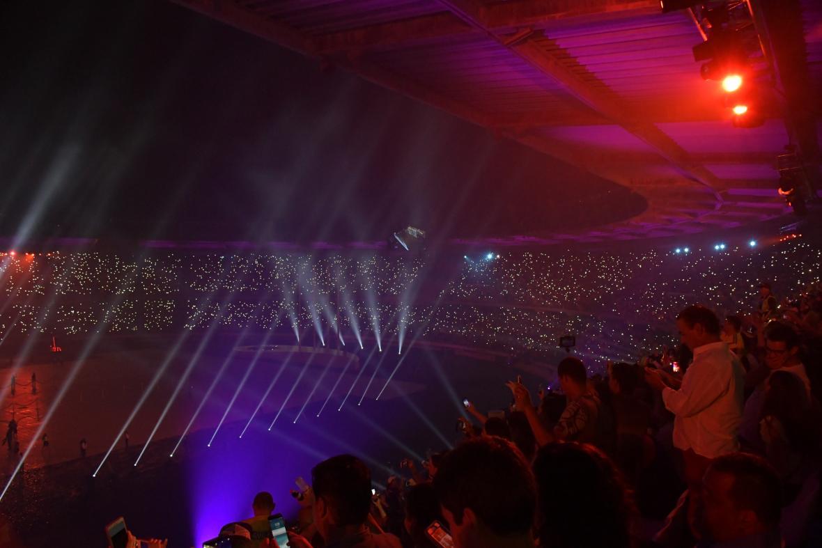 Imagen de las tribunas del  Estadio Metropolitano.