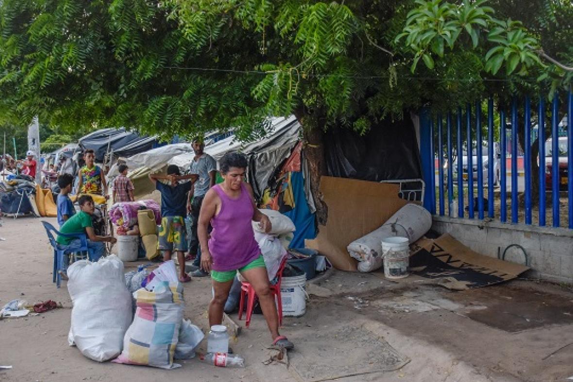La mayoría de venezolanos en Colombia no están en las fronteras
