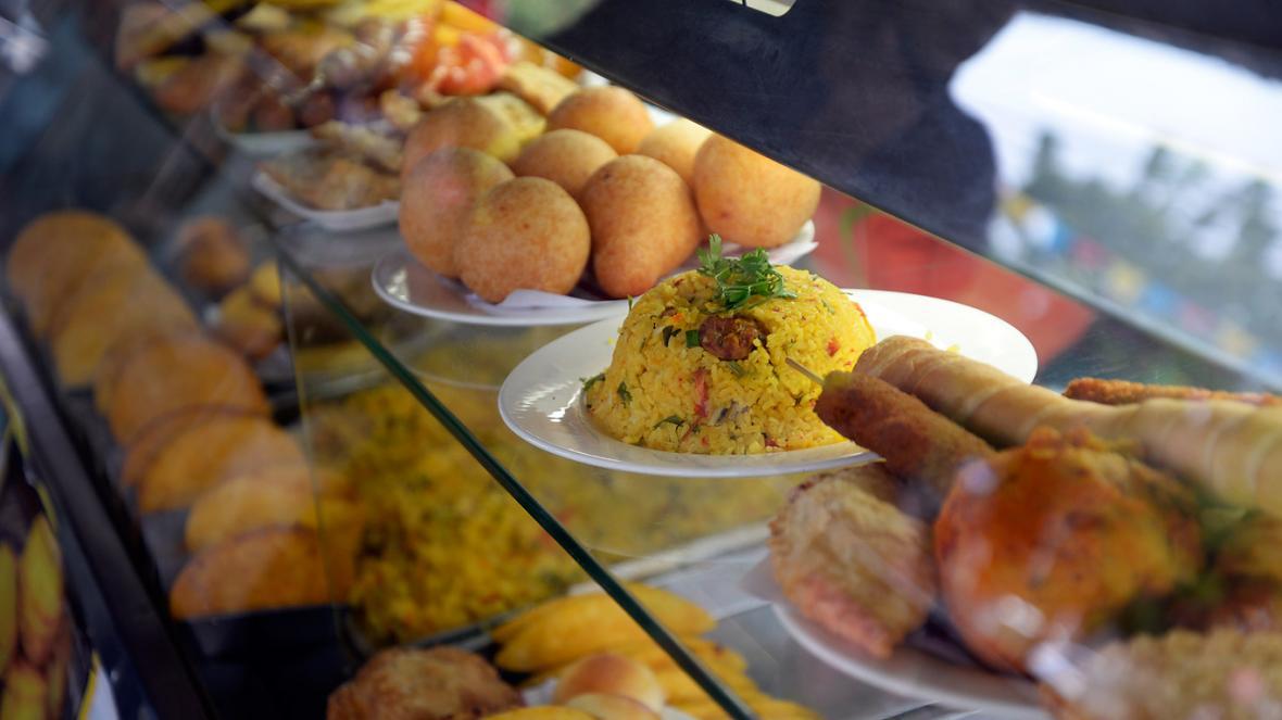 El consumo de fritos hace parte de la cultura caribe.