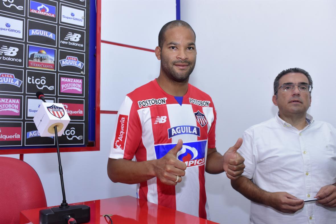 Alberto 'el Mudo' Rodríguez tuvo su primer entrenamiento con el equipo — Junior