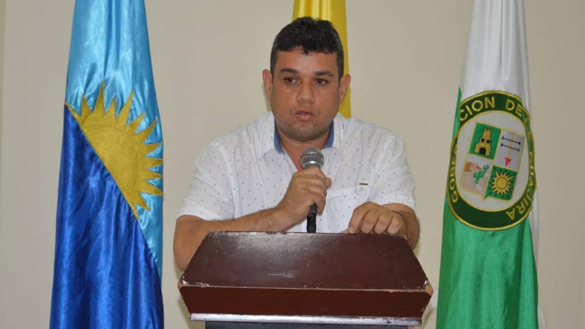 Carlos Suaza Móvil, alcalde de Riohacha, elegido en los comicios atípicos del pasado 2 de diciembre.