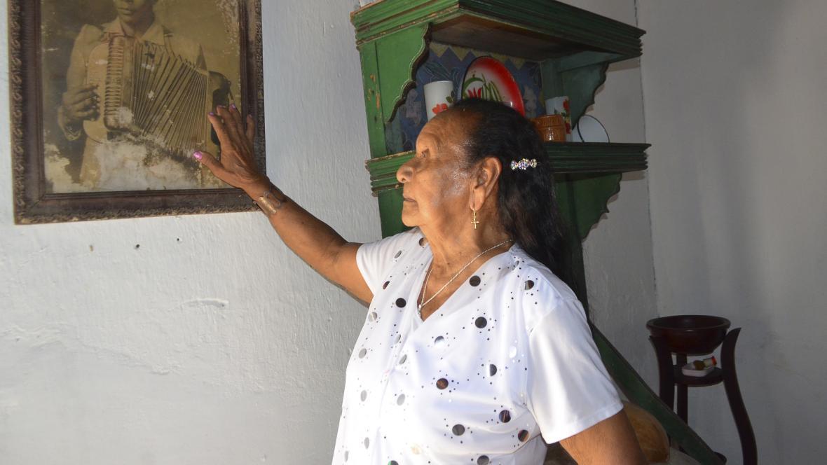 Irene Rojas, la mujer que inspiró la célebre canción '039', contó a EL HERALDO su historia de amor con Alejandro Durán.