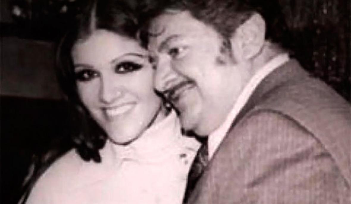 Alicia Juárez en compañía de José Alfredo Jiménez