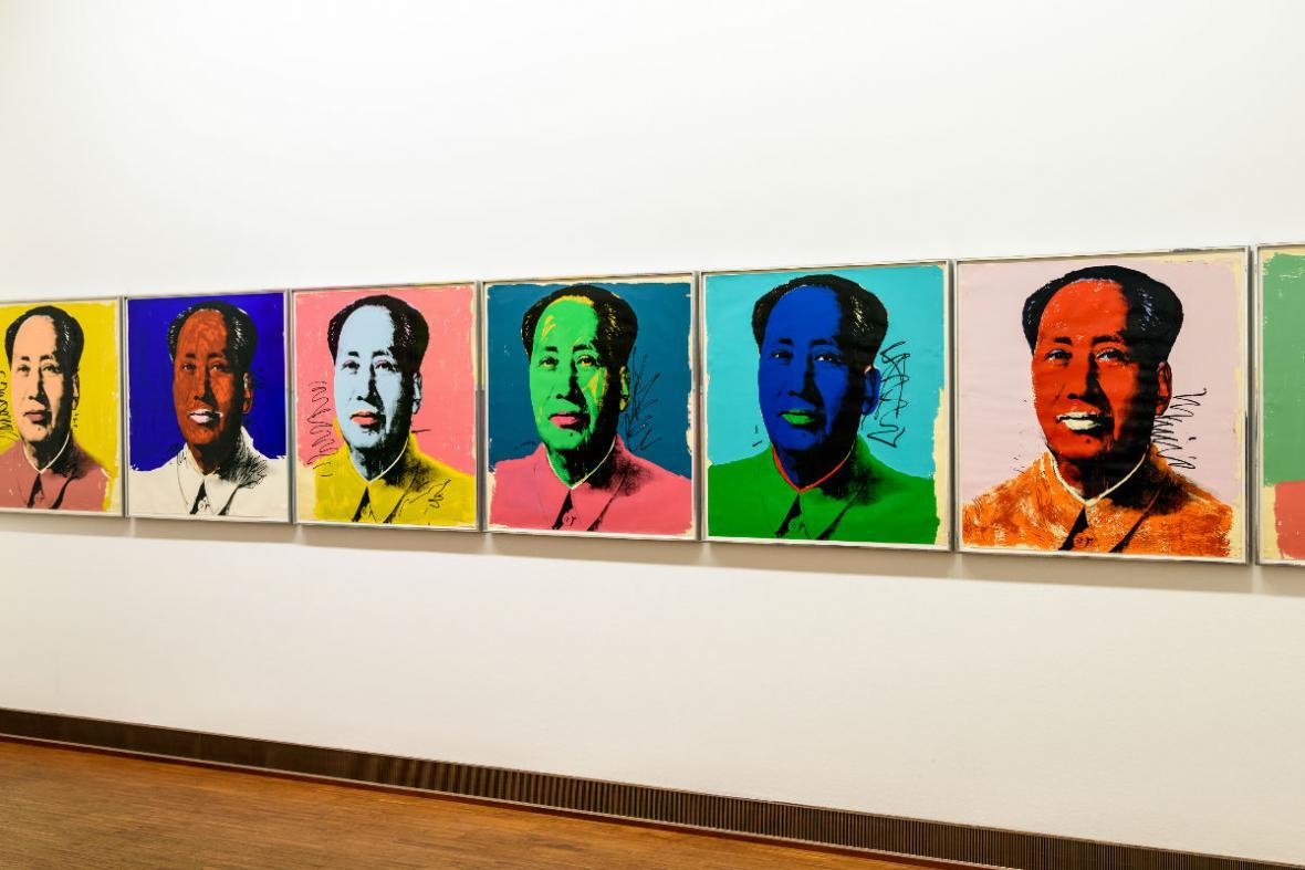 Las obras del ícono del Pop Art en Museo Jumex en México.