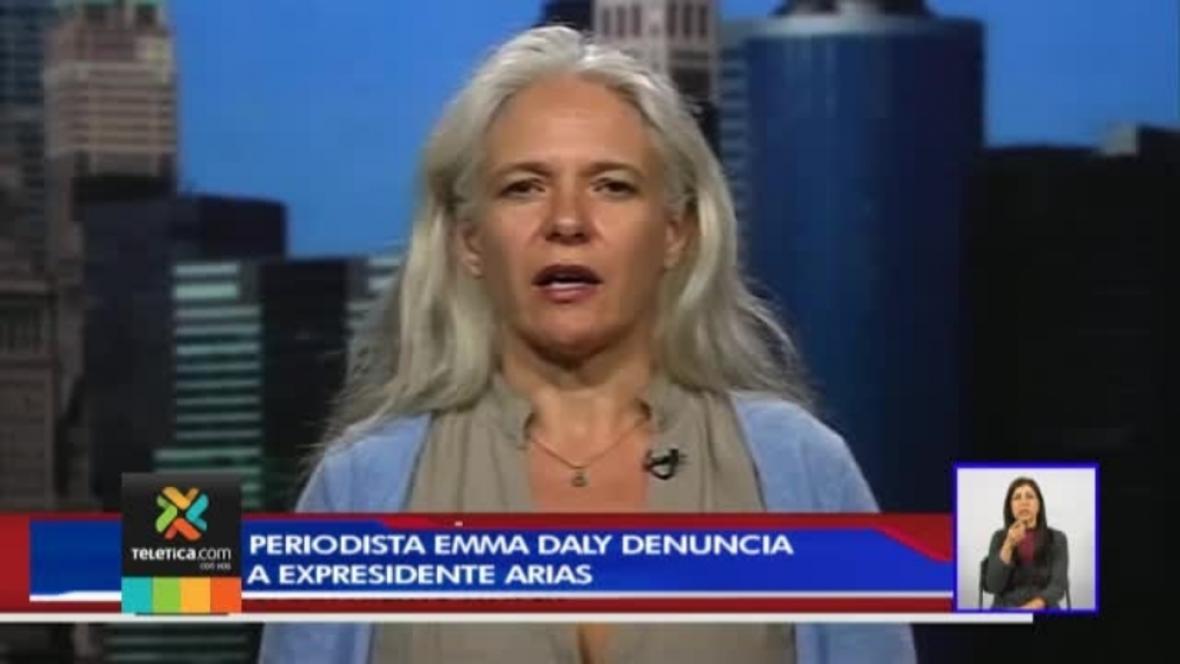 La periodista Emma Daly actual coordinadora de comunicación de Human Rights Watch.
