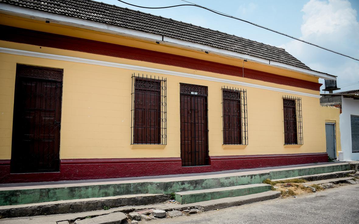 Fachada de la casa museo Muhba.