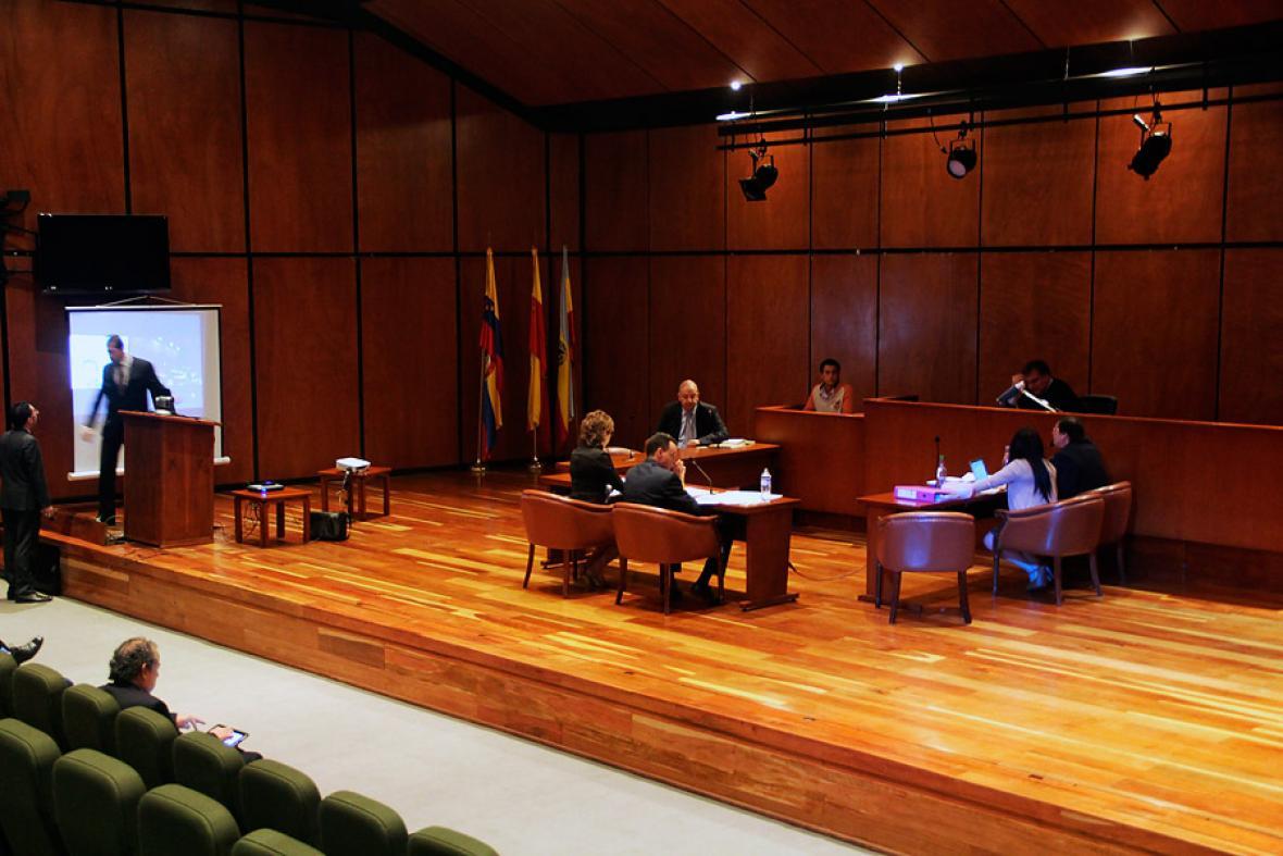 La audiencia contra el exgobernador de Córdoba, Alejandro Lyons.