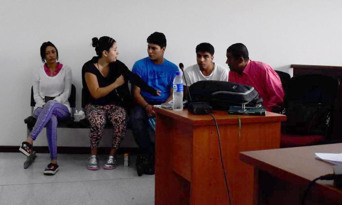 Alexi Johana Mojica Cardona, Paula Tatiana Rendón Orozco, Cristian Camilo Gómez Ozorno y James Caleth Calleps Orozco, cumplen una pena de 5 años y cinco meses de prisión.