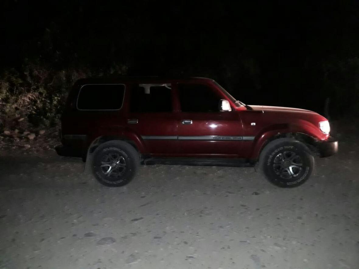 El vehículo en el que fue secuestrado el líder wayuu fue dejado cerca del corregimiento de Matitas