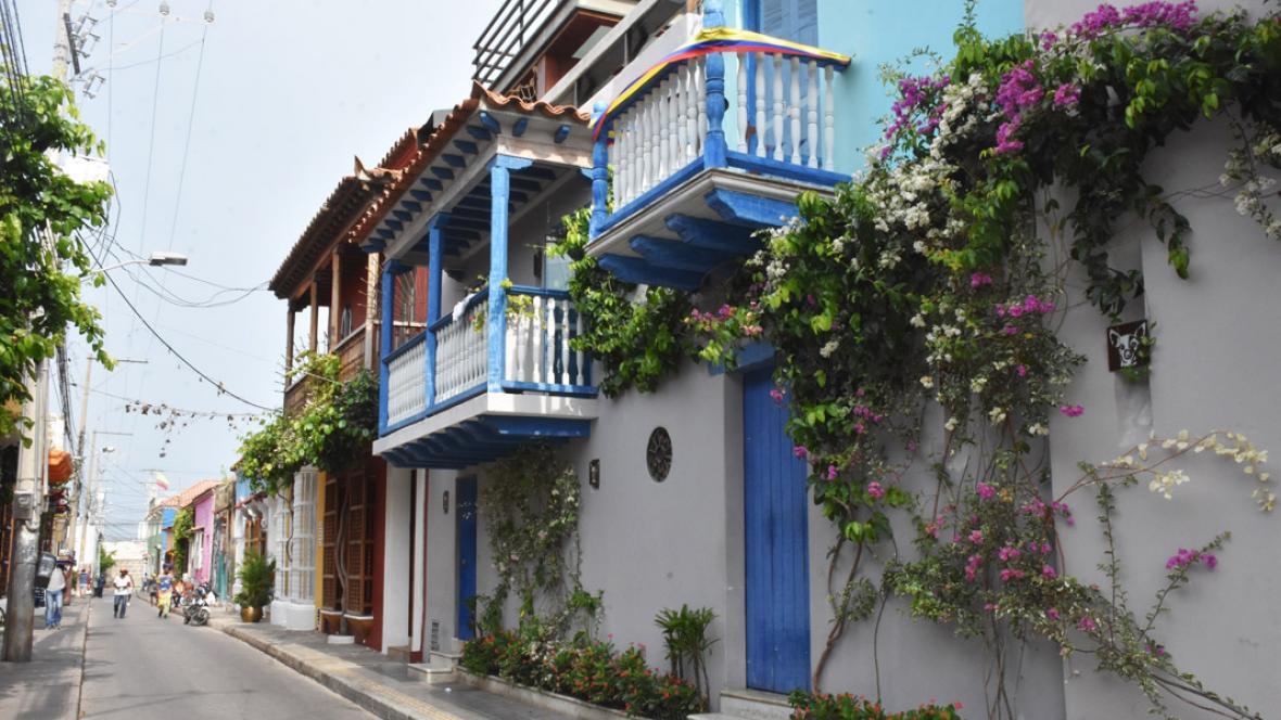 La arquitectura del barrio se conserva casi intacta.
