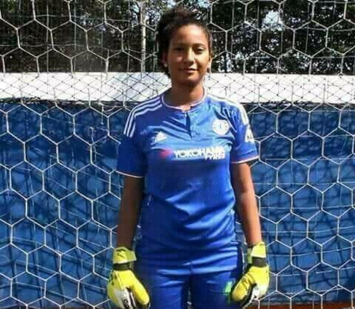 Ladrones mataron a arquera de la selección de fútbol femenina de Bolívar