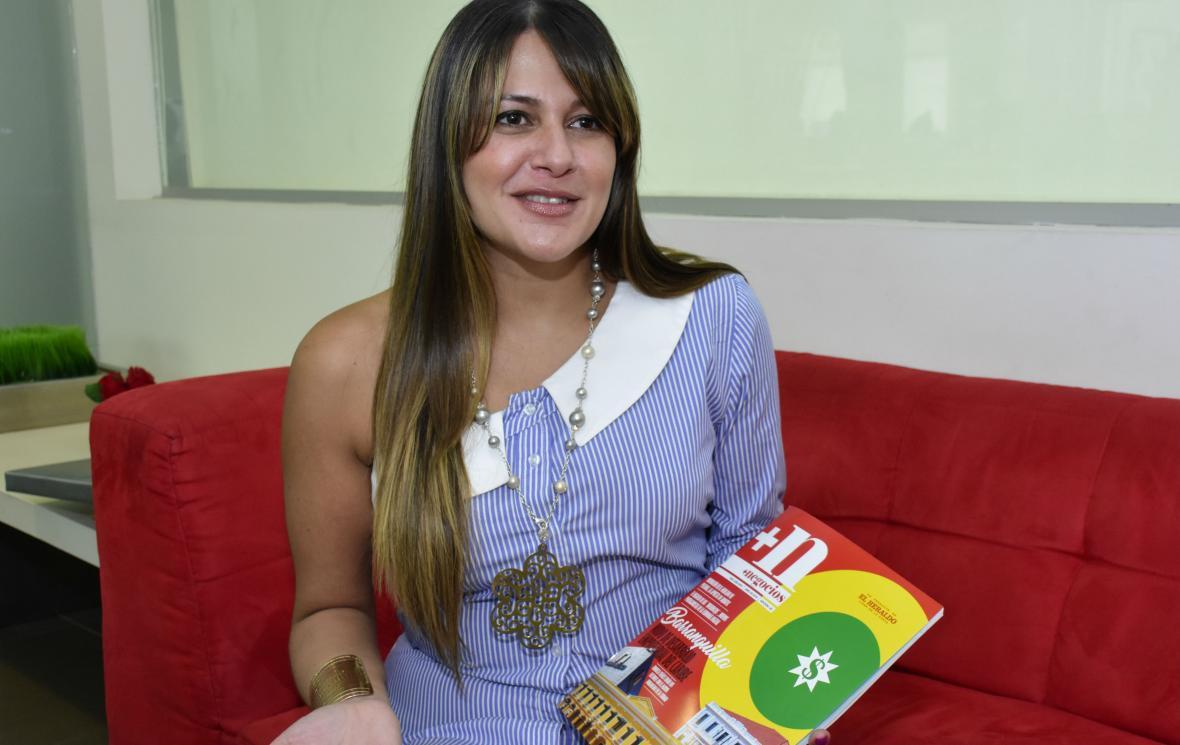 Claudia X. Valbuena, gerente corporativa de ventas hoteles Dann.