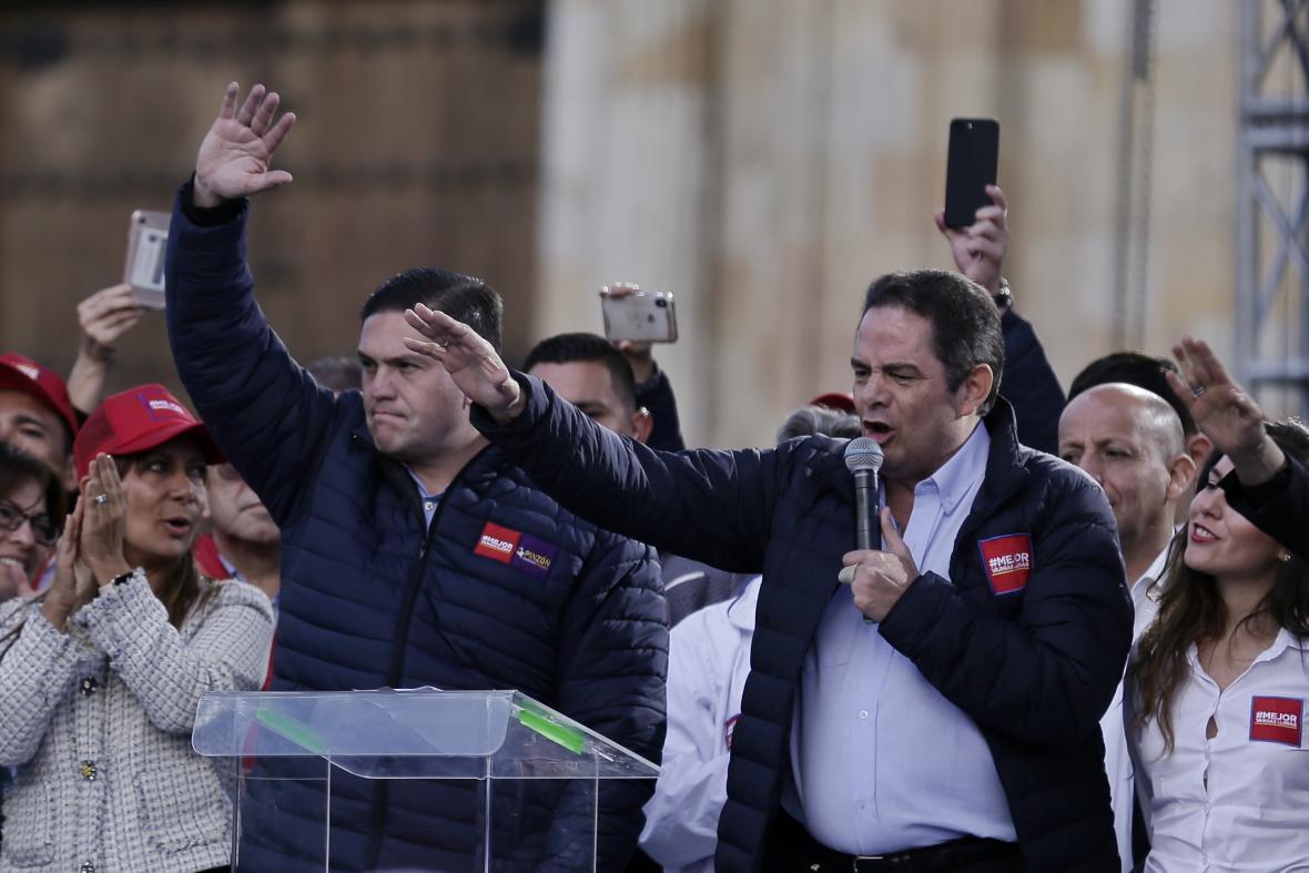 Cierre de campaña del candidato Germán Vargas Lleras.